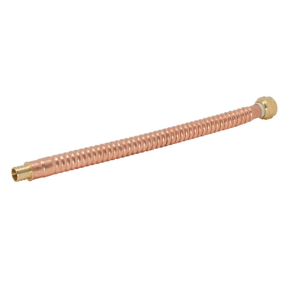 "3/4"" Corrugated Copper Water Heater Connector - 12"""