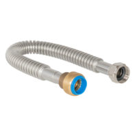 24 in. Eastman Water Heater Connector - 3/4 in. FIP x 3/4 in. Push-fit
