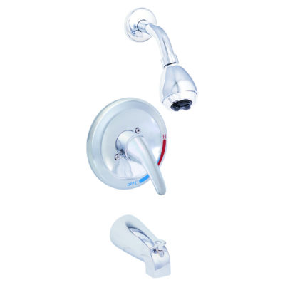 EZ-FLO Chrome Shower Faucet Set - Prestige