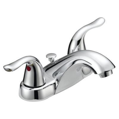 EZ-FLO Low-Arc Chrome Lavatory Faucet - Impressions Collection