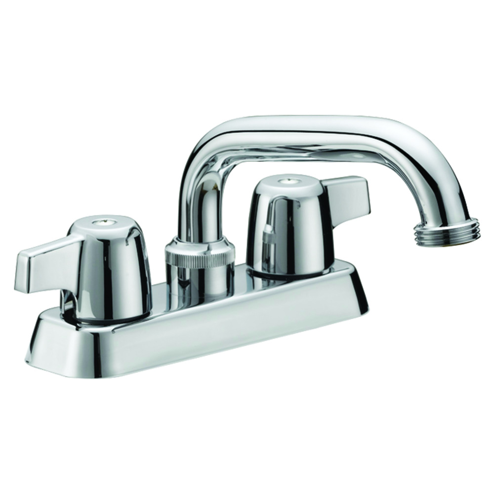 Two-Handle Laundry Faucet - Chrome