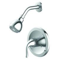 Single-Handle Shower Trim Kit - Chrome