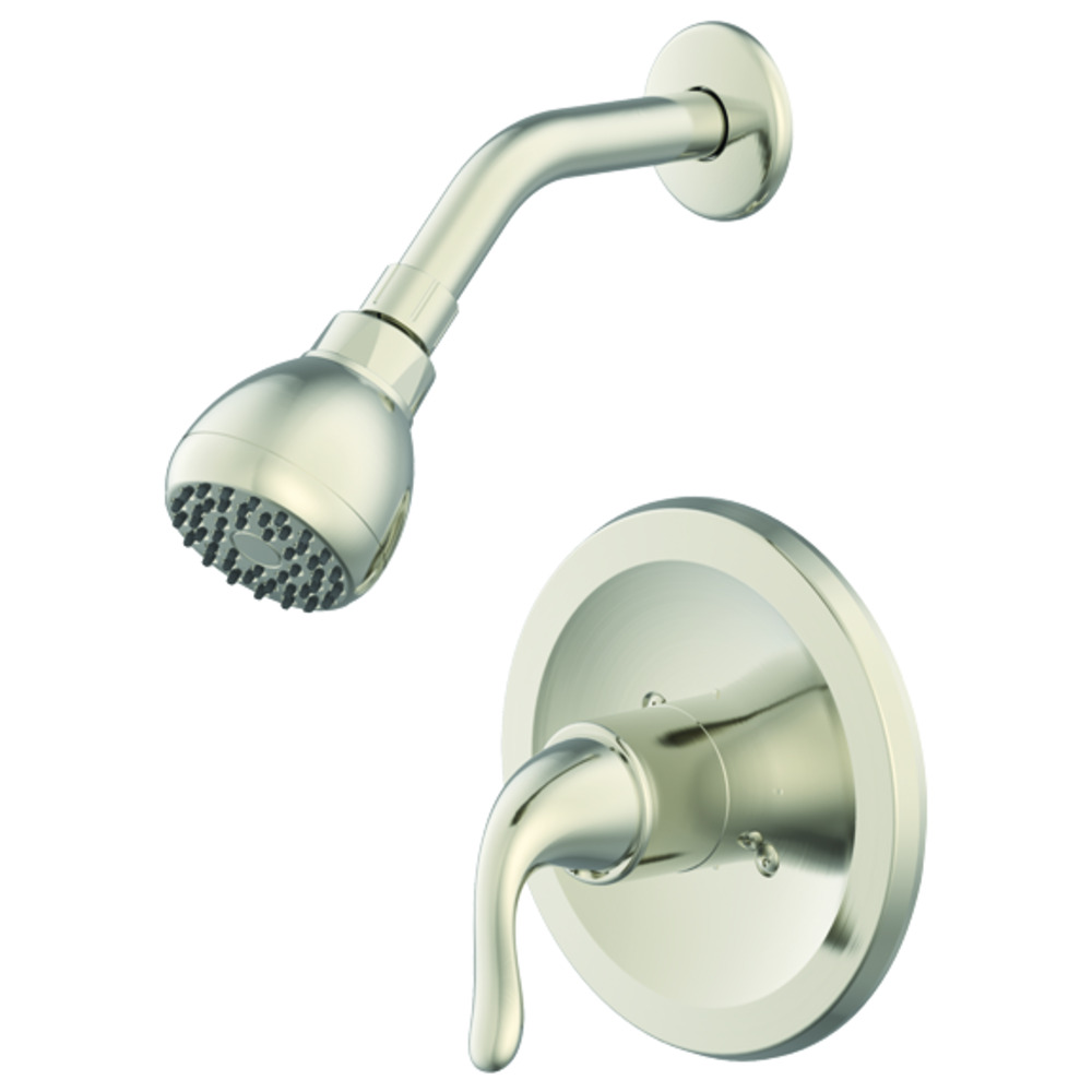 Ez Flo Brushed Nickel Shower Trim Kit Impressions