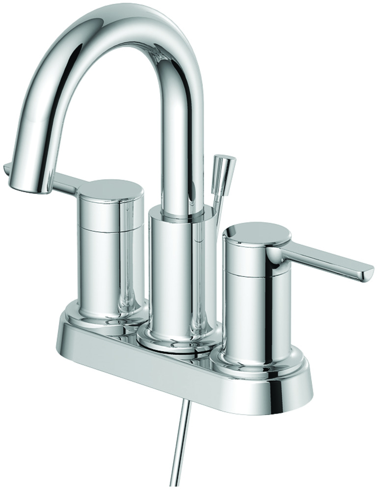 Two-Handle Lavatory Faucet with 50/50 Pop-Up