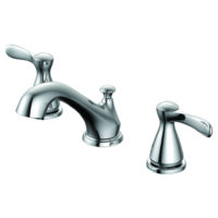 EZ-FLO Chrome Widespread Bathroom Sink Faucet - Tuscany