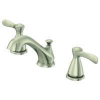 EZ-FLO Brushed Nickel Widespread Bathroom Sink Faucet - Tuscany