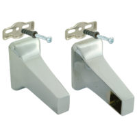 Towel Bar Brackets - Polished Brass