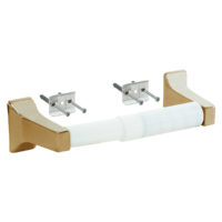 Toilet Paper Holder - Polished Brass