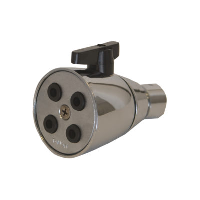 2.0 GPM - Deluxe Shower Head - Metal Ball Joint