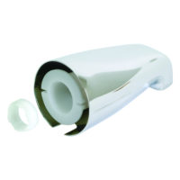 "1/2"" or 3/4"" IPS Inlet Adjustable Tub Spout with Face Bushing"