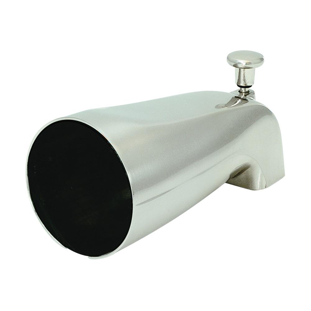 Diverter Spout - Zinc Body - Brushed Nickel
