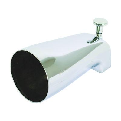 Diverter Spout - Zinc Body - Chrome