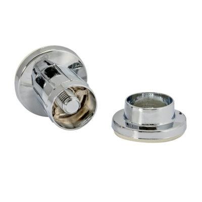 Adjustable Shower Rod Flanges - Chrome Die Case