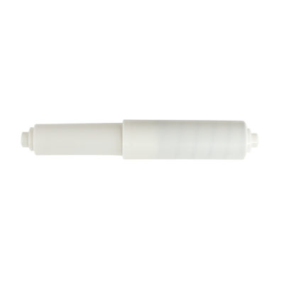 "Toilet Paper Roller - White - 5/8"" Round Ends"