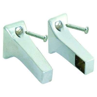 Towel Bar Brackets - Brushed Nickel