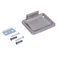 Bathroom Accessories - Soap Dish - Satin Nickel