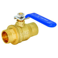 "3/4"" Sweat Heavy-Duty Full Port Ball Valve"