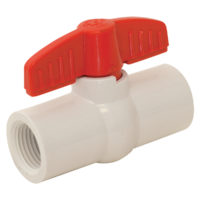 "1/2"" IPS SCH 40 PVC Ball Valve"
