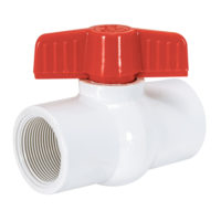 SCHEDULE 40 PVC BALL VALVE - IPS
