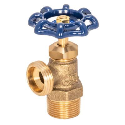 """3/4"""" MIP Brass Boiler Drain - MHT Outlet"""