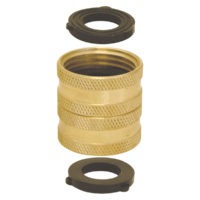 "Swivel Hose Connector - 3/4"" FHT x 3/4"" FHT"