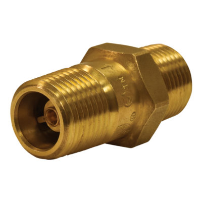 """1/2"""" MPT X 1/2"""" MPT In-Line Check Valve"""