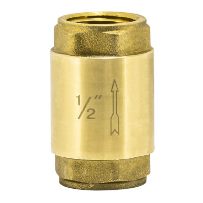 "1/2"" IPS In-Line Check Valve"