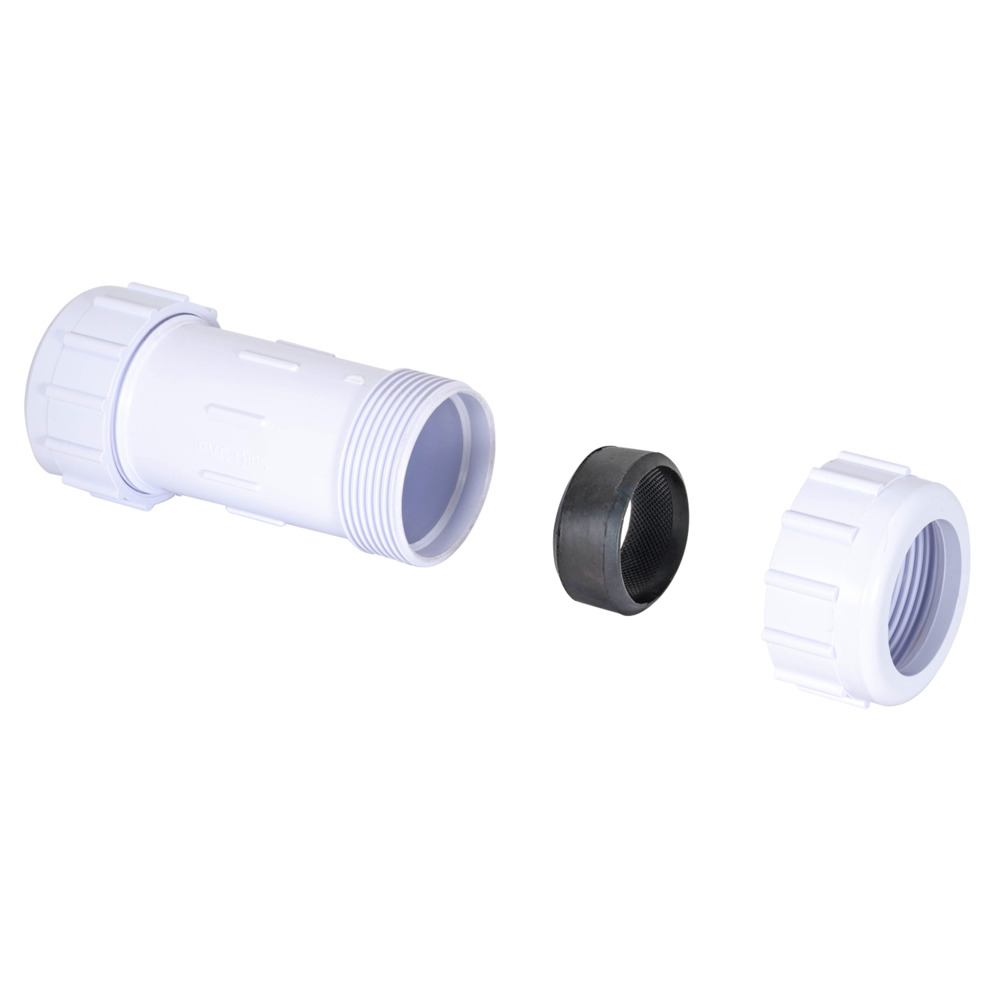 "1-1/2"" IPS PVC Schedule 40 Compression Couplings"