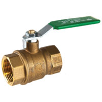 "1-1/4"" IPS Brass Ball Valve"
