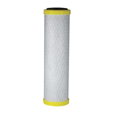 "4-1/2"" Chloramine Carbon & Odor Carbon Block Filter - Household"