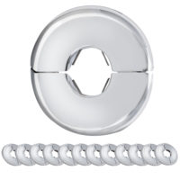 7/8 in. OD Eastman Split Escutcheon - Floor and Ceiling