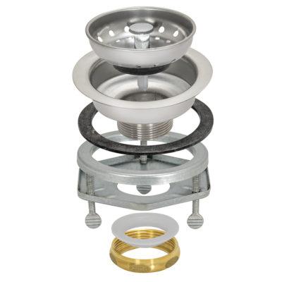 Sink Strainer - Quick Connect - Brass Slip Joint Nut