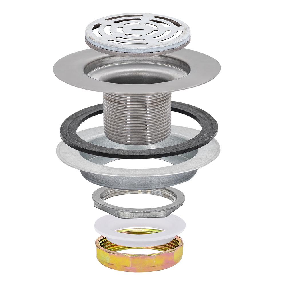 Flat Top Strainer - Die Cast Nut