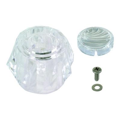 Acrylic Handle - With Offset Diamond Socket