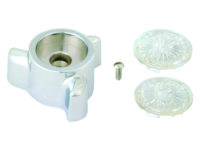 Three Point Style Kitchen & Lavatory Handle- Hot or Cold