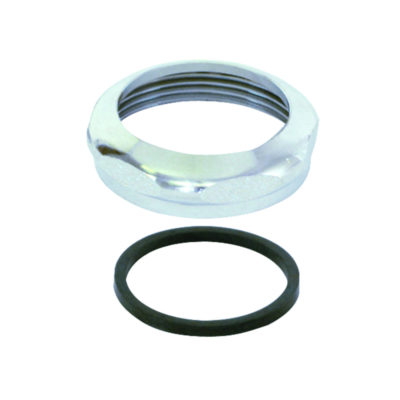 """1-1/2"""" Slip Joint Nut With Washer - Brass"""