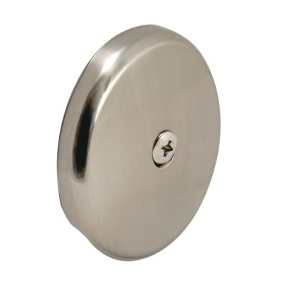 Overflow Face Plate - PVD Brushed Nickel
