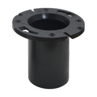 "3"" x 4"" ABS Adjustable Closet Flange"
