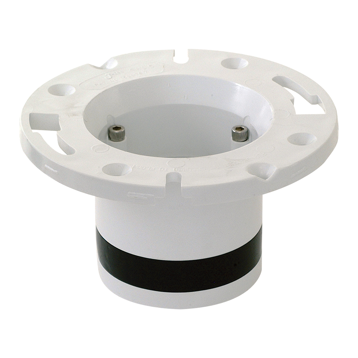 4 in  Push-N-Repair Closet Flange - PVC | Contractor Access®