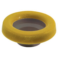 "4"" Reinforced Wax Ring with Flange"