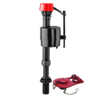 Fluidmaster Pro Series Fill Valve and Flapper - Adjustable