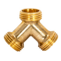 "3/4"" MHT ""Y"" Connector for Steam Dryer"