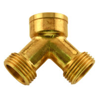 "3/4"" FHT ""Y"" Connector for Steam Dryer"