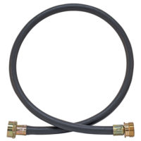 4' Rubber Washing Machine Extension Hose