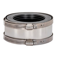 "4"" x 3"" No-Hub Couplings"