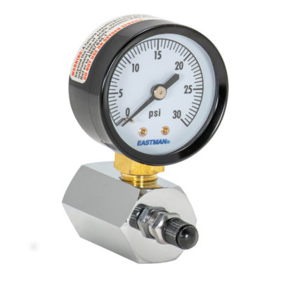 "Gas Pressure Test Gauge - 2"" Face - 0-30 PSI"