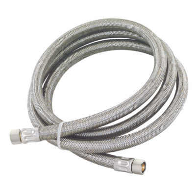 96 in. Eastman Braided Faucet Connector - 3/8 in. Comp x 3/8 in. Comp