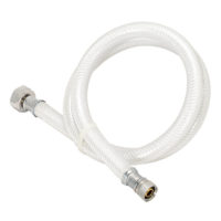 "1/2"" FIP x 3/8"" Comp. PVC Faucet Connector"