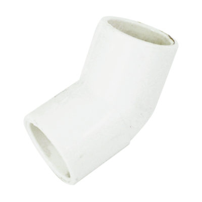 "1-1/4"" 45° Elbow- PVC Pressure 40"