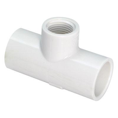 """3/4"""" x 3/4"""" x 1/2"""" TEE - PVC Pressure 40"""